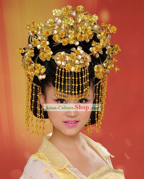 Ancient Palace Empress Wedding Hair Accessories Set