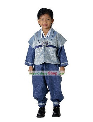 Ancient Korean Hanbok for Boys