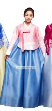Ancient Korean Hanbok Clothes Set for Women