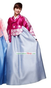 Ancient Korean Hanbok Costumes Set for Women