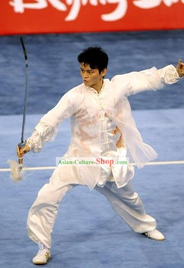 Kung Fu Sword Competition Outfit for Men