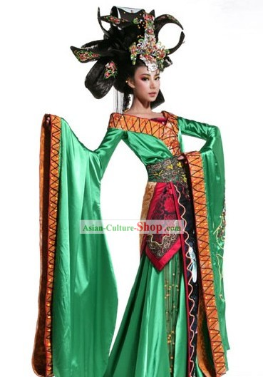 Chinese Ancient Beauty Costumes Complete Set