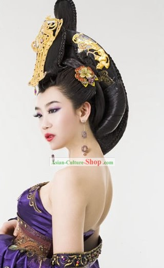 Ancient Empress Palace Style Wig