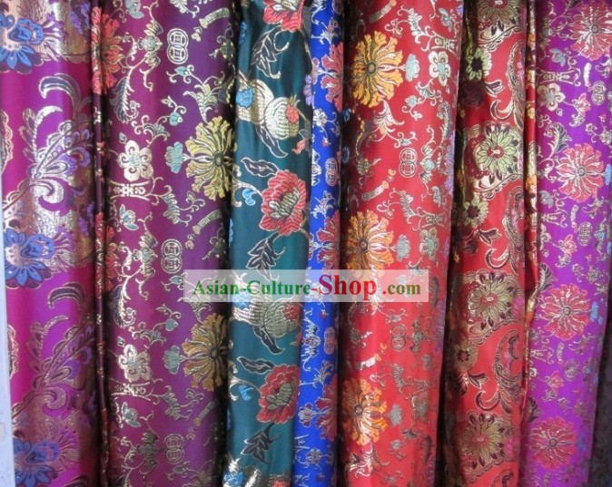 Chinese Traditional Silk Brocade Fabric