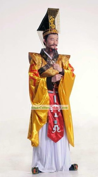 Ancient Chinese Emperor Costumes Set