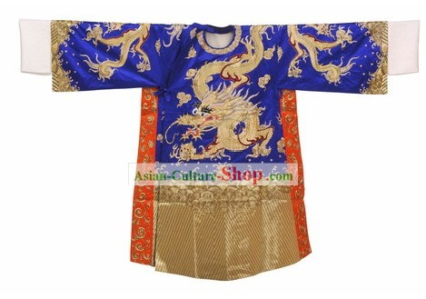 Beijing Opera Wusheng Dragon Playing Ball Mang Robe