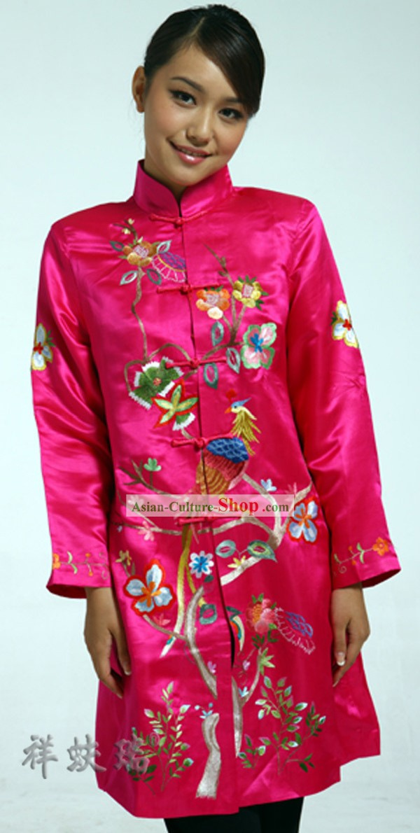 Well-known Rui Fu Xiang Silk Wedding Dress for Women