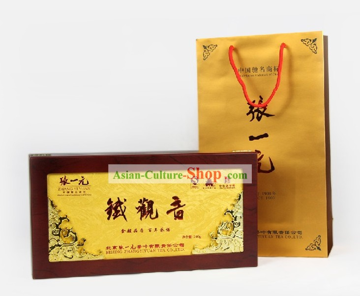 Chinese Zhang Yiyuan Supreme Tie Guanyin Tea Leaf in Gift Package