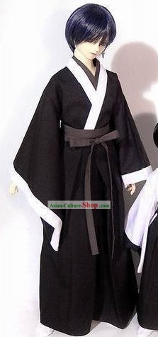 Traditional Japanese Male Kimono Clothing Set