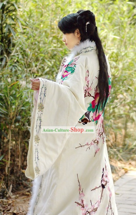 Standard Genuine Chinese Hanfu Clothing Complete Set