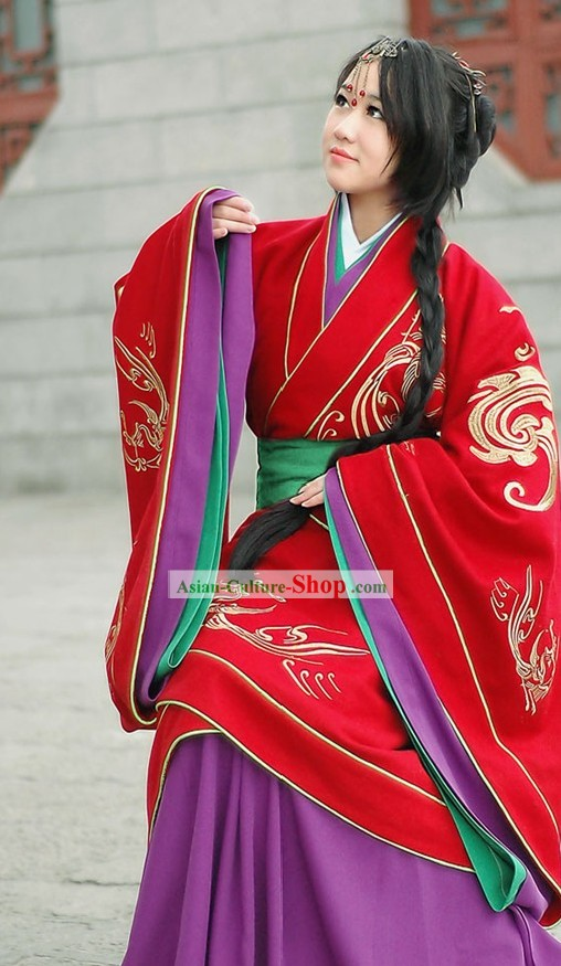 Genuine Traditional Chinese Bridal Wedding Dress