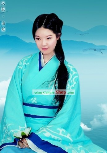 Traditional Chinese Han Clothing Complete Set for Women