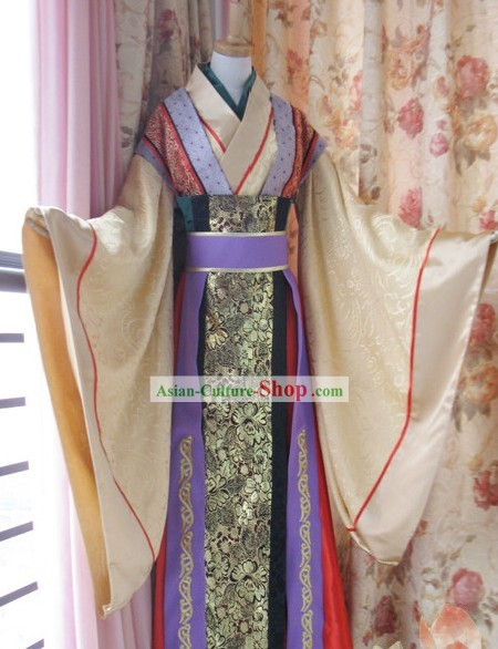 Tang Dynasty Emperor Costumes Complete Set