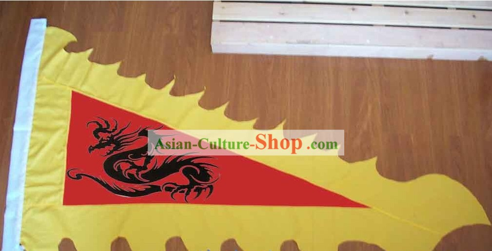 Custom Made Triangle Dragon Flag