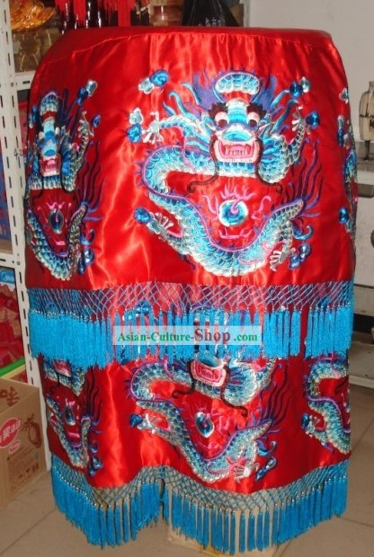 Large Chinese Dragon Umbrella Flag