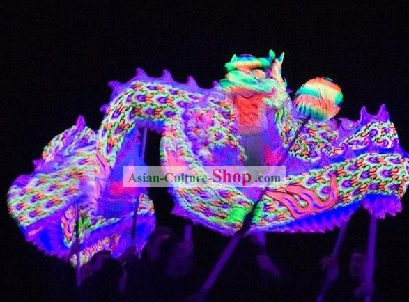 Professional Luminous Dragon Parade Costumes Complete Set