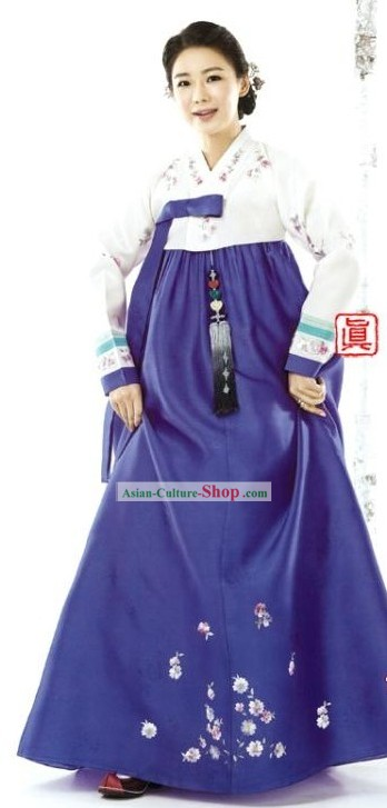 Traditional Korean Female Hanbok Clothing