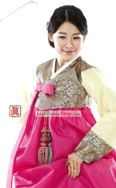 Traditional Korean Women Hanbok