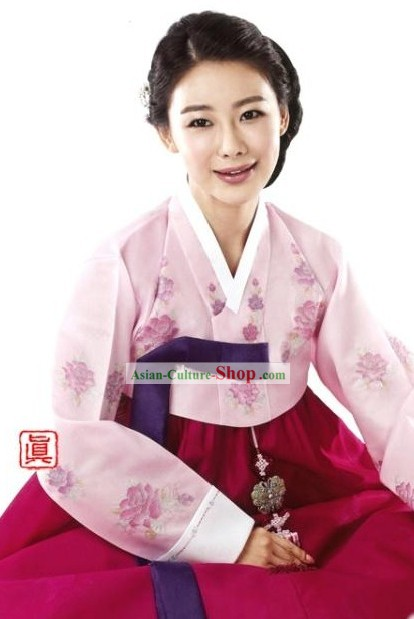 Traditional Korean Women Hanbok Dress