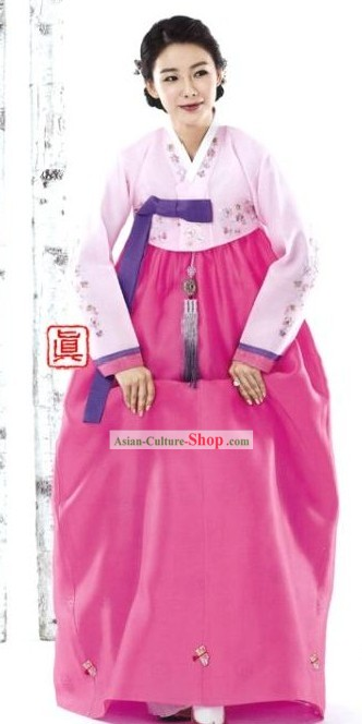 Korean Women Hanbok Clothing