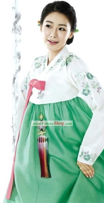 Korean Traditional Women Hanbok Formal Clothing