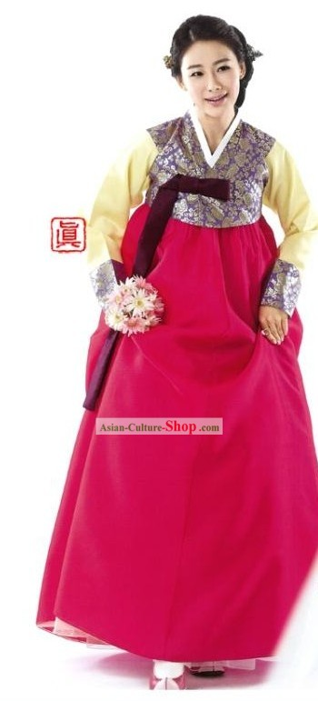 Korean Traditional Women Hanbok Dress