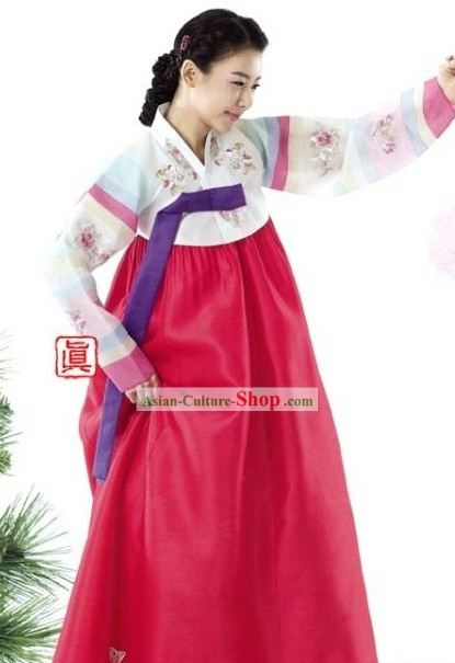 South Korean Women's Every Wear Hanbok Clothing