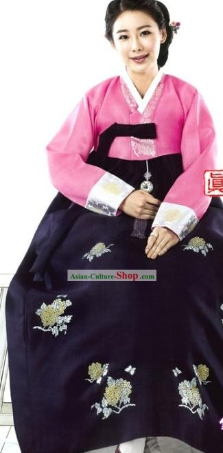 Traditional Korean Women Hanbok Clothing