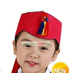 Traditional Korean Hanbok Hat for Kids