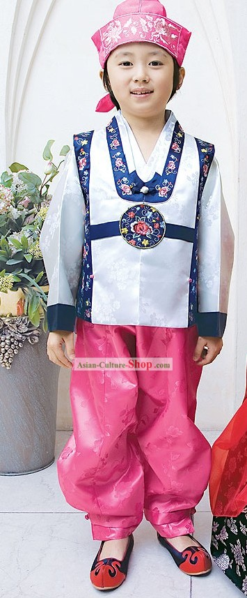 Traditional Korean Children Hanbok Dress for Boys