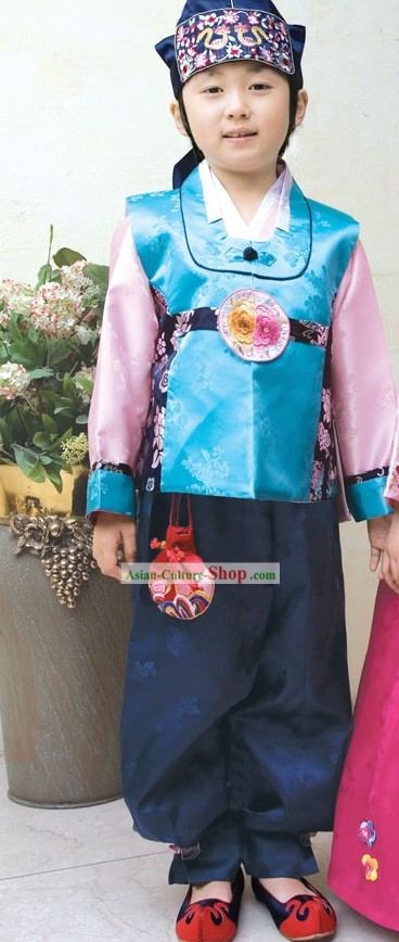 Traditional Korean Children Hanbok for Boys