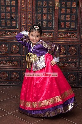 Korean Royal Clothes for Children