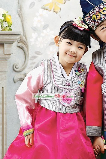 Korean Children Costumes for Girls