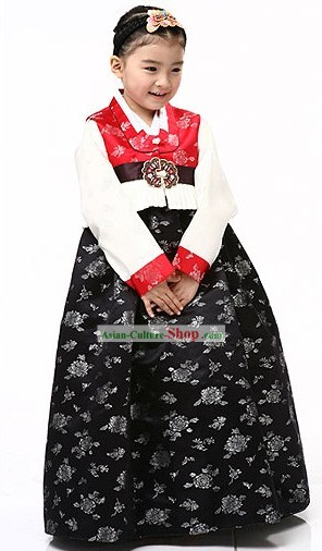 Traditional Korean Children Hanbok for Girls