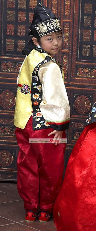 Traditional Korean Children Costumes Complete Set