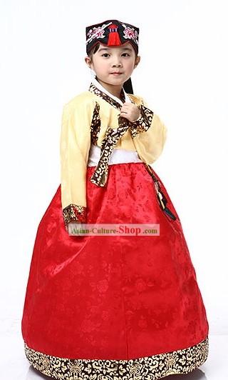 Traditional Korean Costumes for Children