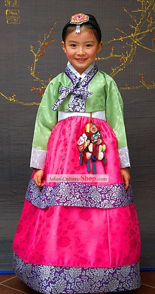 Traditional Korean Children Hanbok