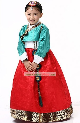 Traditional Korean Children Dress