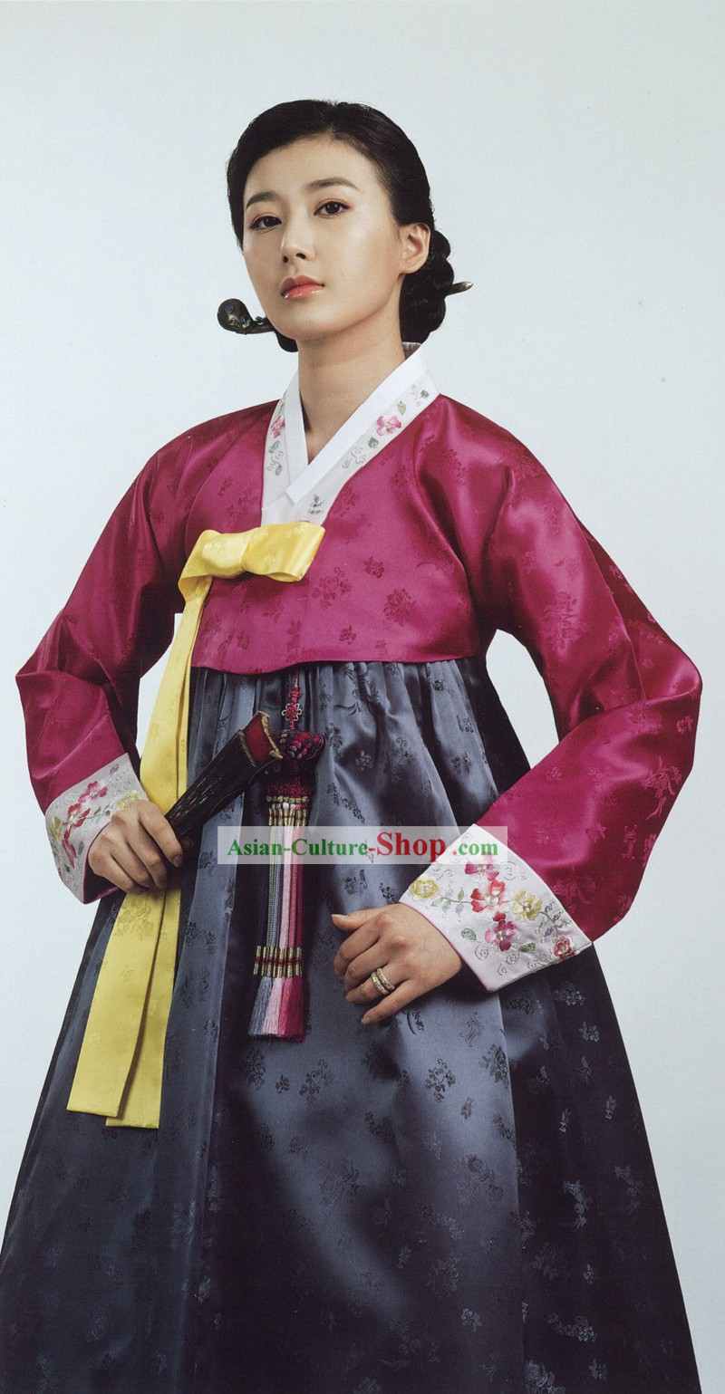 Traditional Korean Women Everyday Wear's Hanbok