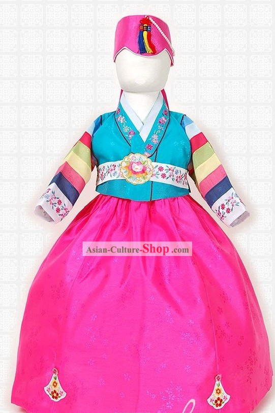 Traditional Korean Clothing for Girls