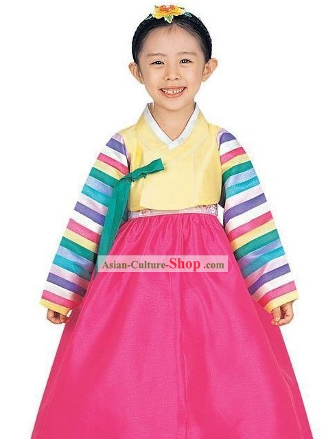 Traditional Korean Everyday's Wear Children Hanbok Set