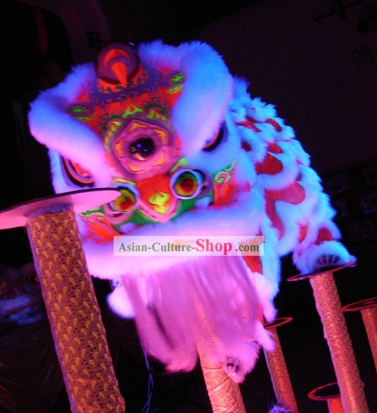 Top Chinese Luminous Lion Dance Costumes