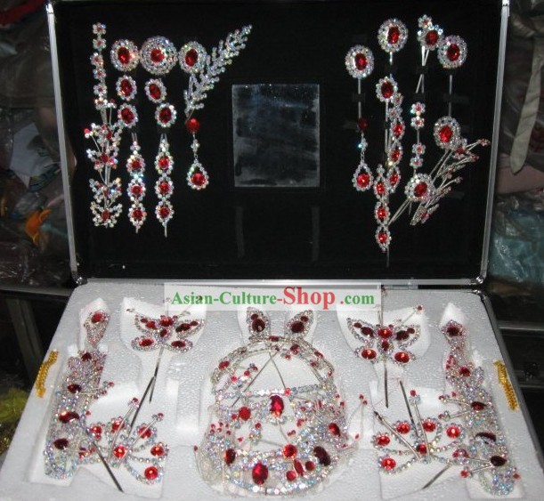 Peking Opera Dan Hair Accessories Set for Women