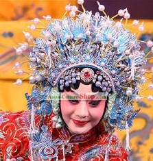 Peking Opera Butterfly Coronet for Women