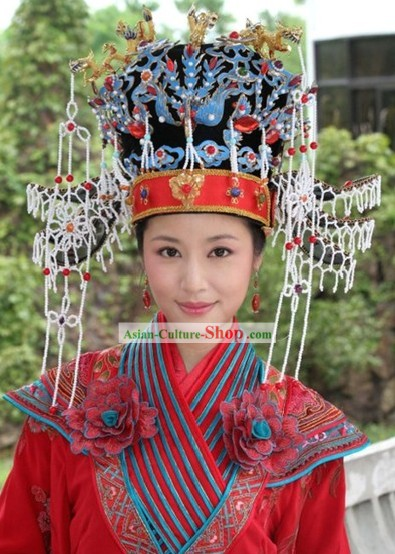Ancient Empress Wedding Phoenix Crown Set