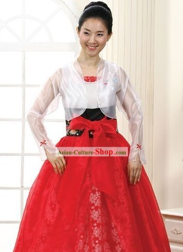Traditional Hanbok Wedding Women Modern Hanbok
