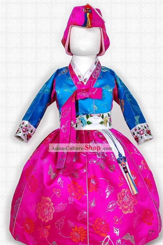 Traditional Korean Hanbok for Kids
