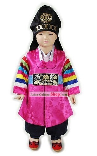 Traditional Korean Baby Hanbok Clothing