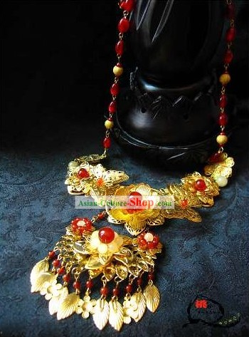 Ancient Chinese Hanfu Wearing Necklace