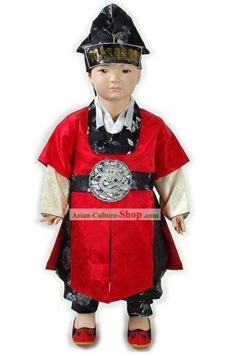 Ancient Korean Hanbok Costumes for Children